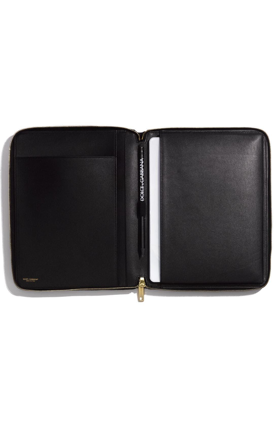 Alternate Image 3  - Dolce&Gabbana Zip Around iPad Case
