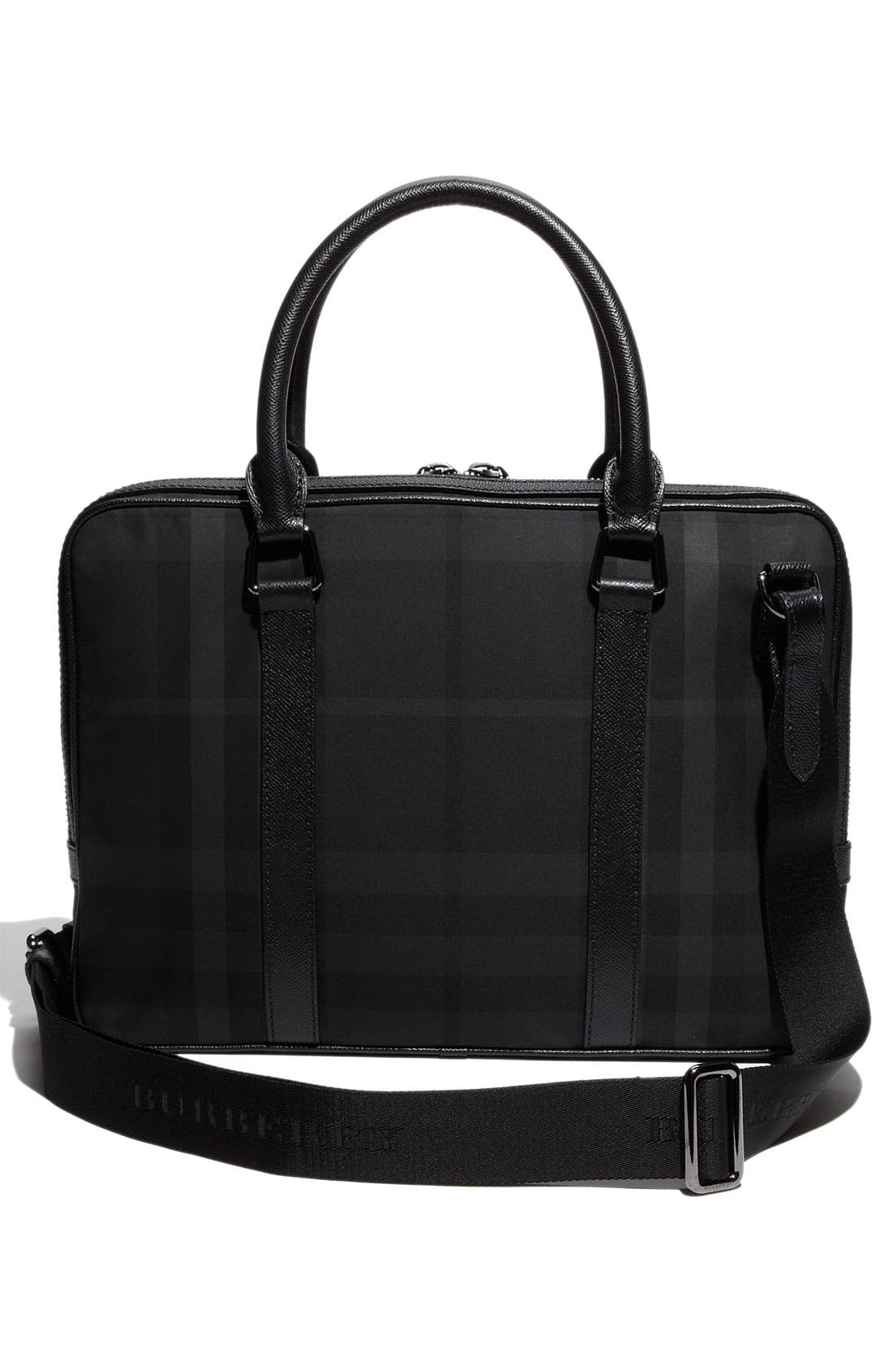 Alternate Image 2  - Burberry Check Print Nylon Briefcase