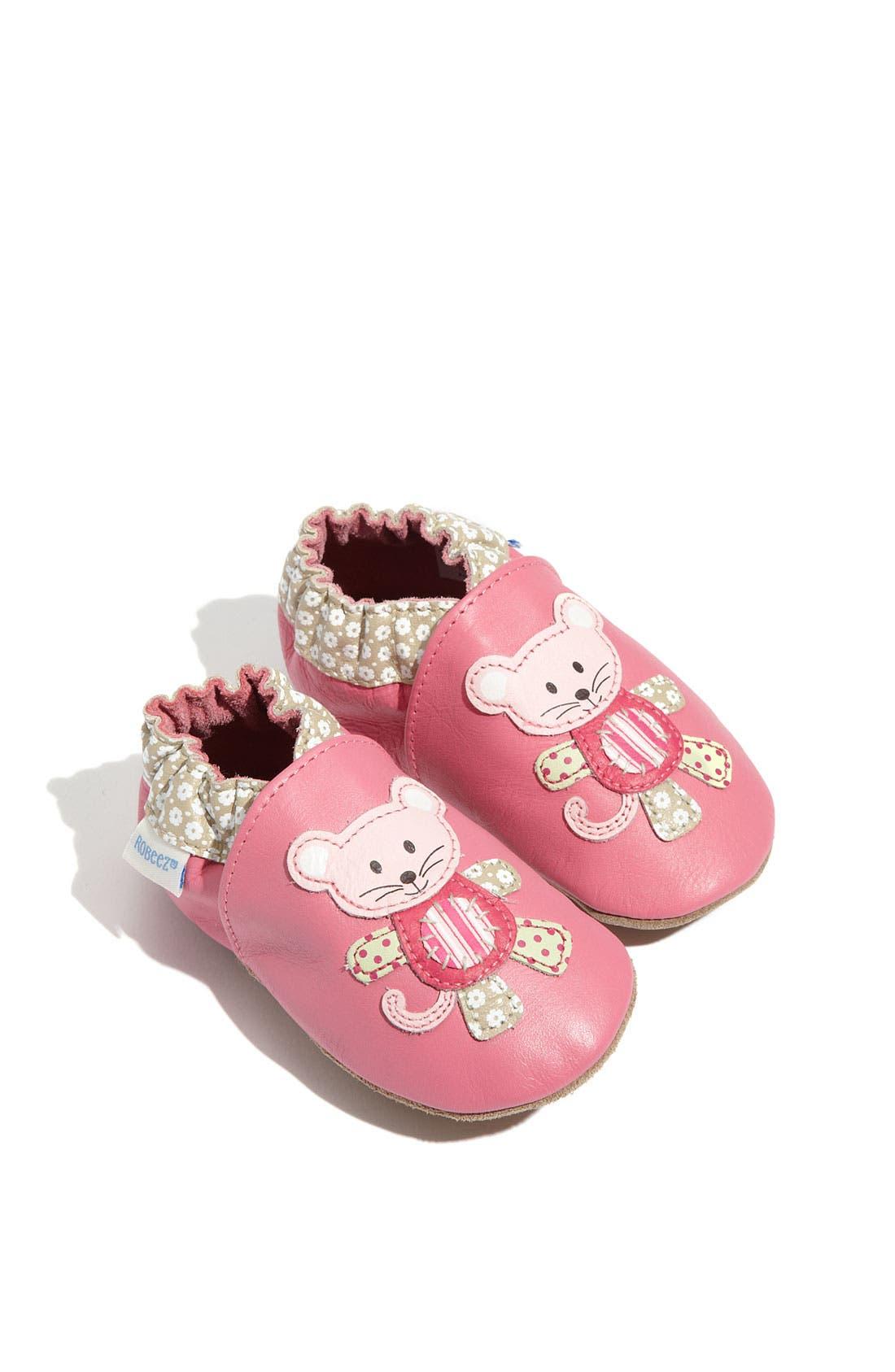 Main Image - Robeez® 'Mouse' Slip-On (Baby & Walker)
