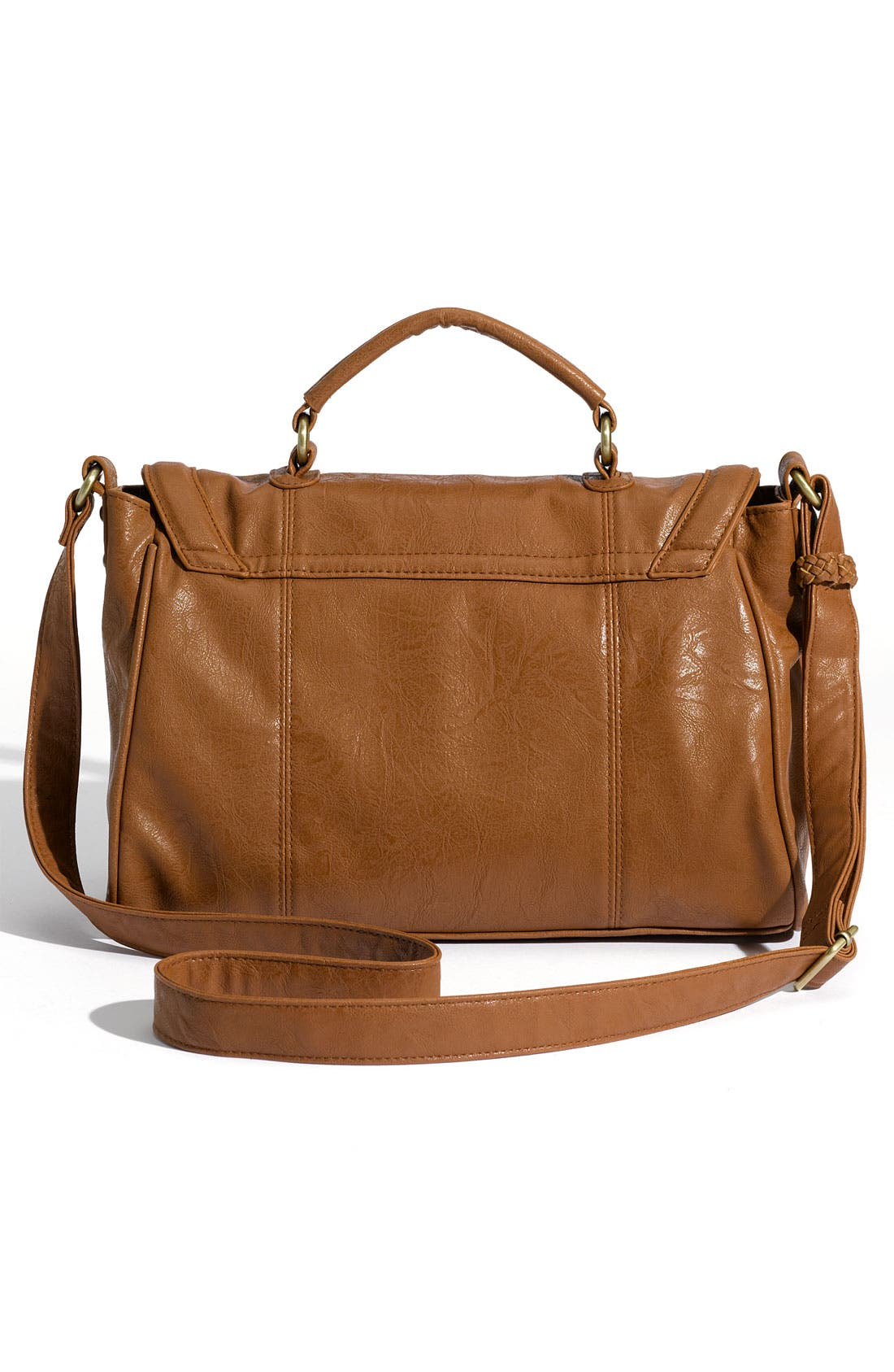 Alternate Image 3  - Top Choice Crossbody Braid Trim Satchel