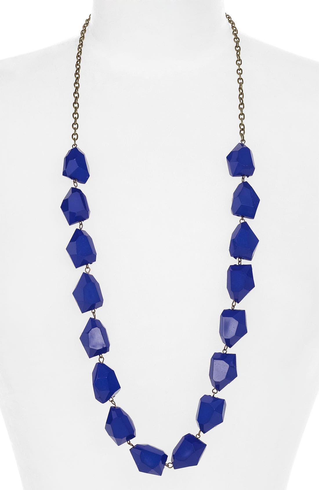 Alternate Image 1 Selected - Stephan & Co. Cobalt Necklace