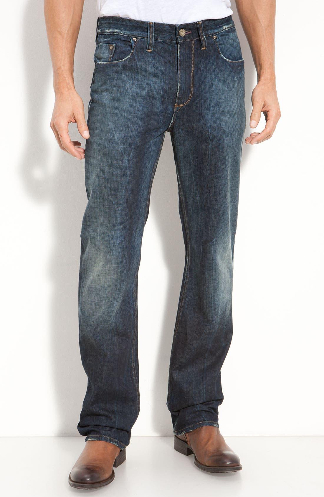 Main Image - Robert Graham Jeans 'Yates' Classic Fit Jeans (Atlantic)