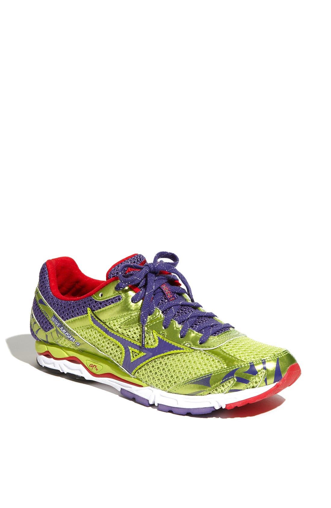 Alternate Image 1 Selected - Mizuno 'Wave Musha 4' Running Shoe (Women) (Regular Retail Price: $89.95)
