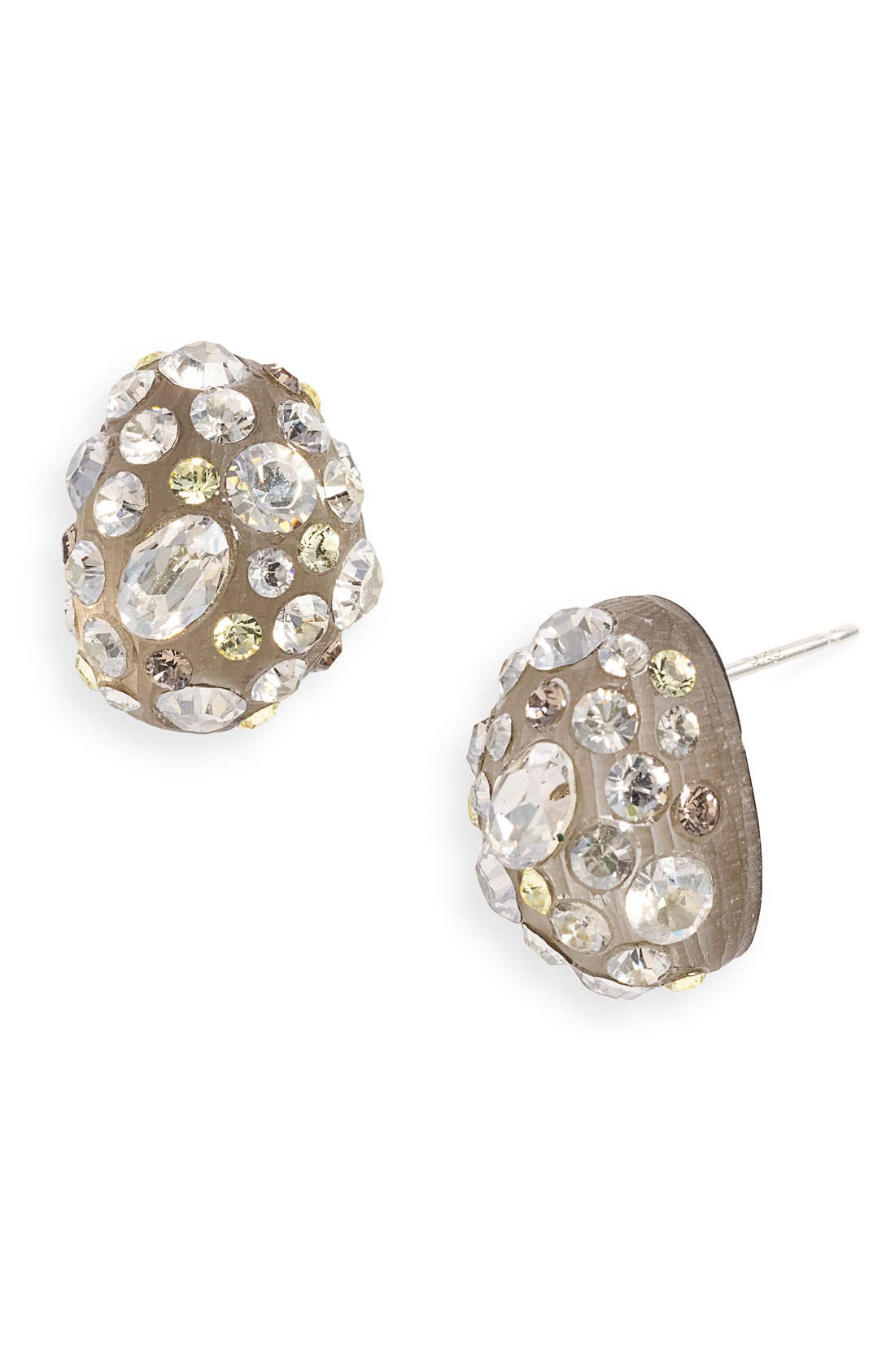 Alternate Image 1 Selected - Alexis Bittar 'Satin Dust' Pavé Bean Earrings (Nordstrom Exclusive)