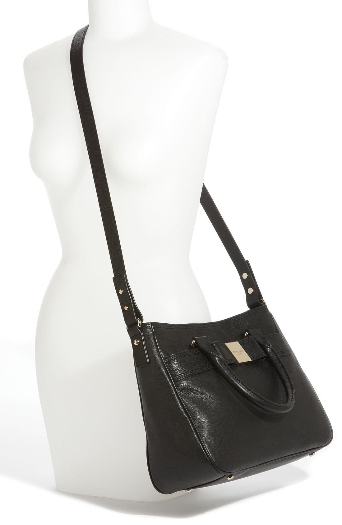 Alternate Image 2  - kate spade new york 'primrose hill - goldie' leather satchel