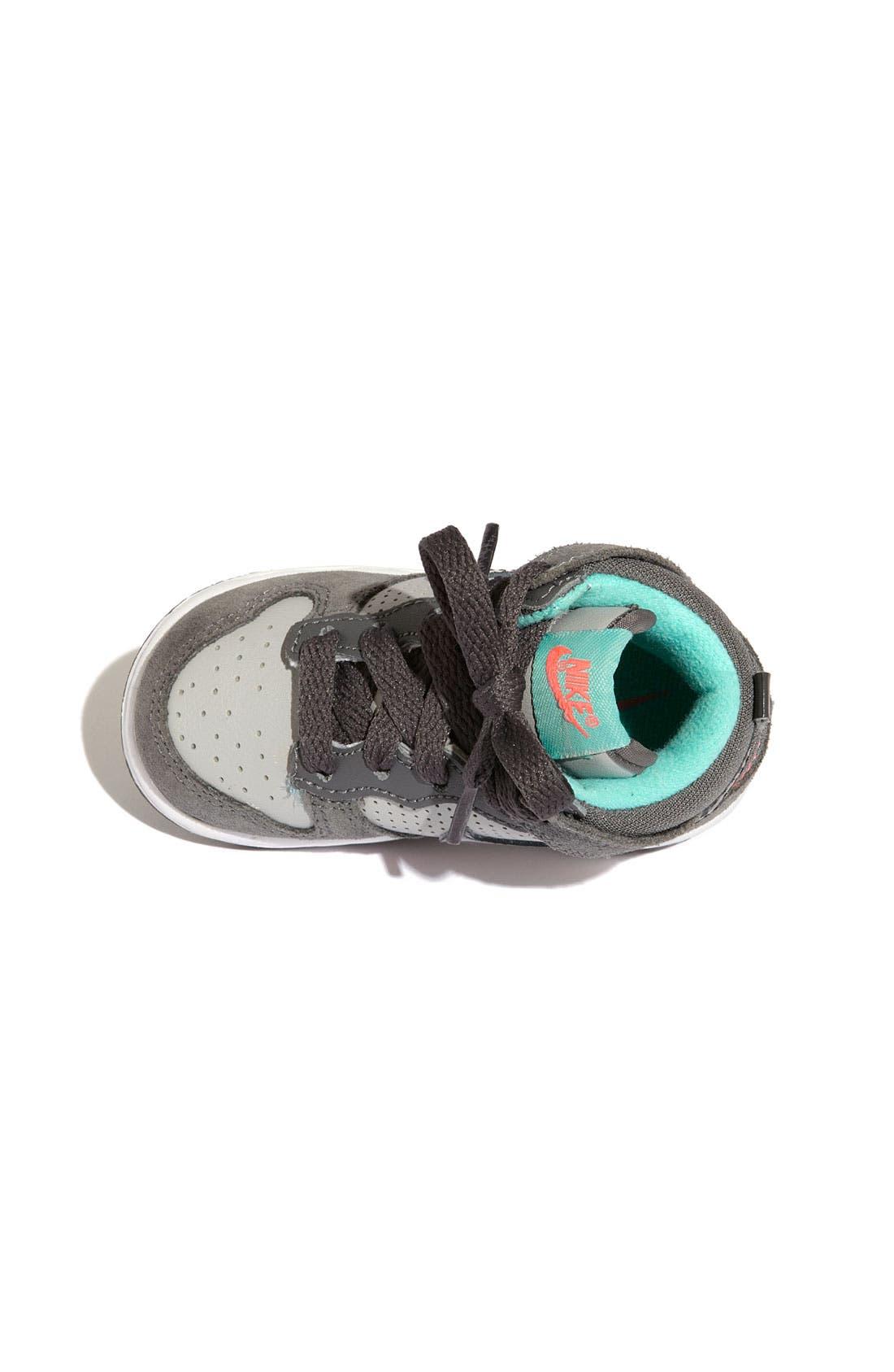 Alternate Image 3  - Nike 'Dunk High' Sneaker (Baby, Walker & Toddler)