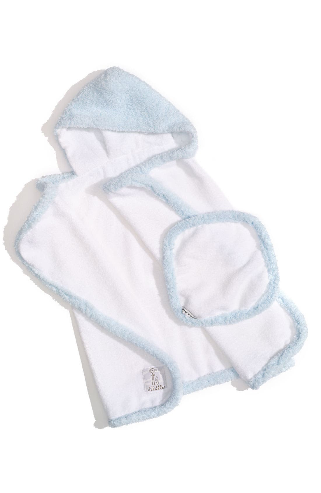 Little Giraffe Towel & Washcloth Set (Infant & Toddler)