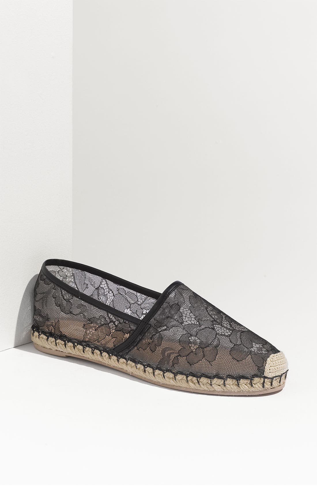 Alternate Image 1 Selected - Valentino Lace Flat Espadrille