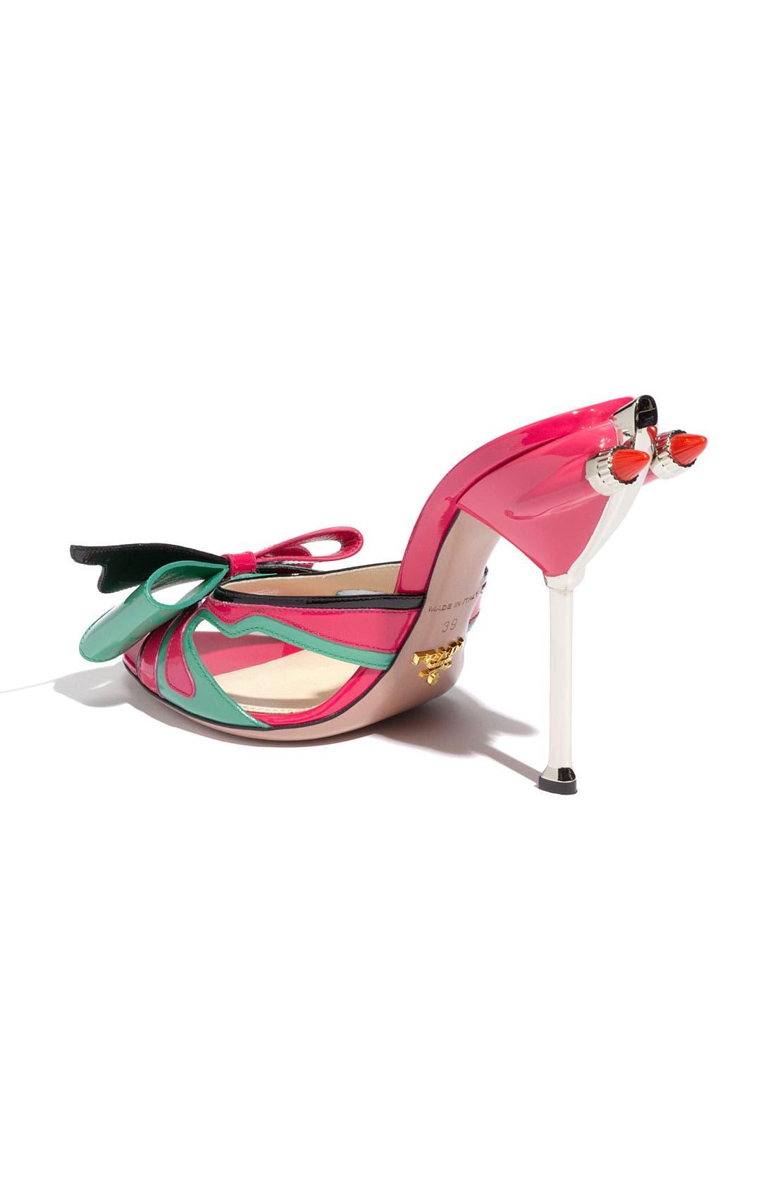 Alternate Image 2  - Prada Bow Tail Light Slide Sandal