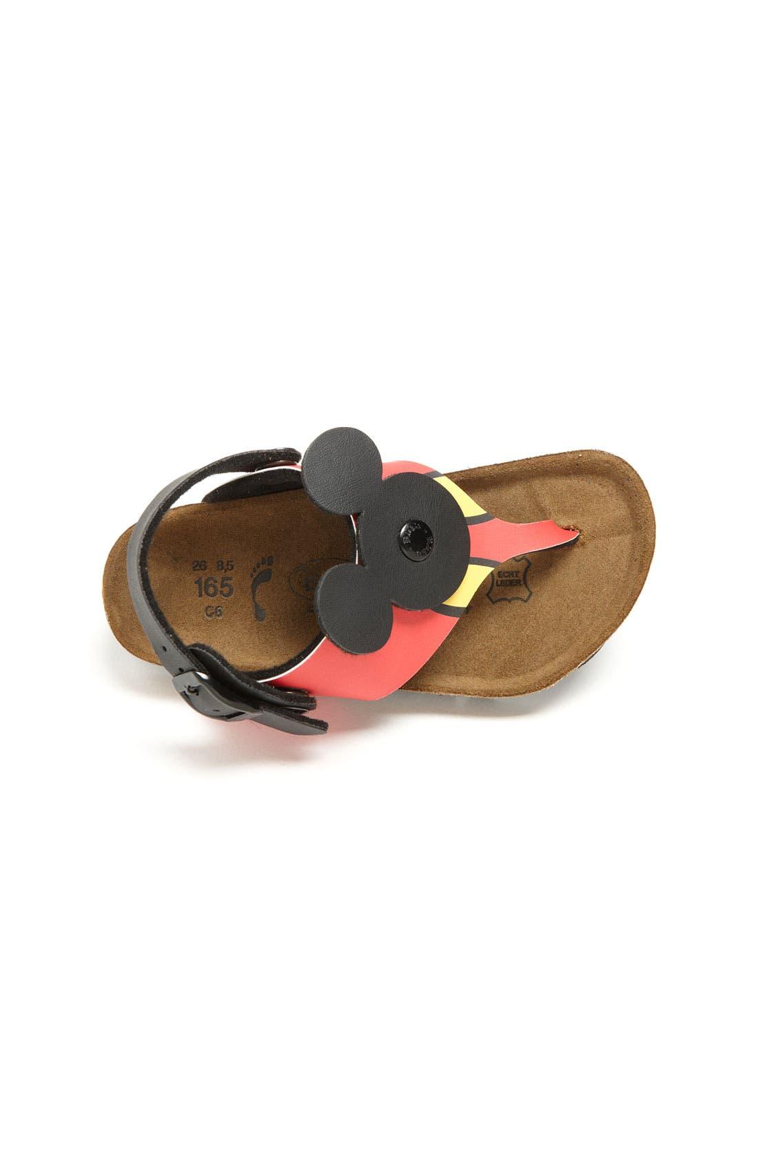 Alternate Image 3  - Birki's® Kids 'Sumatra Mickey' Thong Sandal (Toddler & Little Kid)