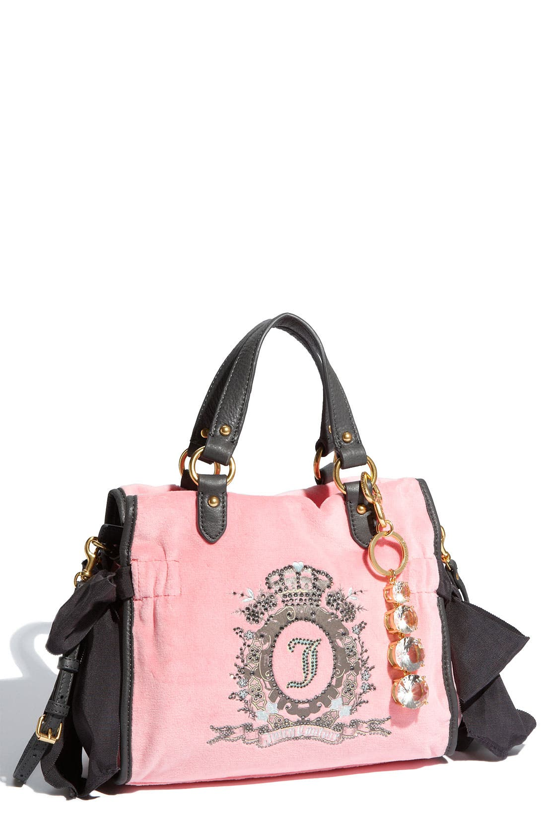 Alternate Image 1 Selected - Juicy Couture 'The Cameo Miss Daydreamer - Small' Velour Tote