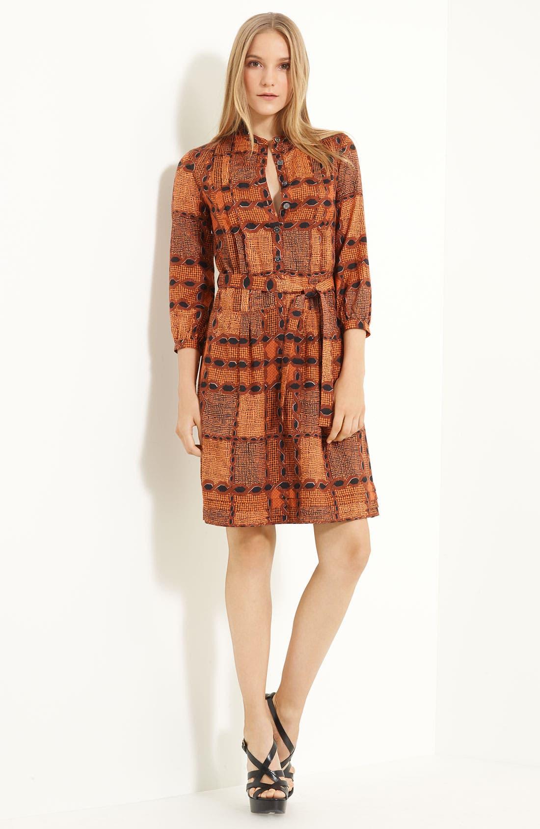 Alternate Image 1 Selected - Burberry Brit Print Shirtdress