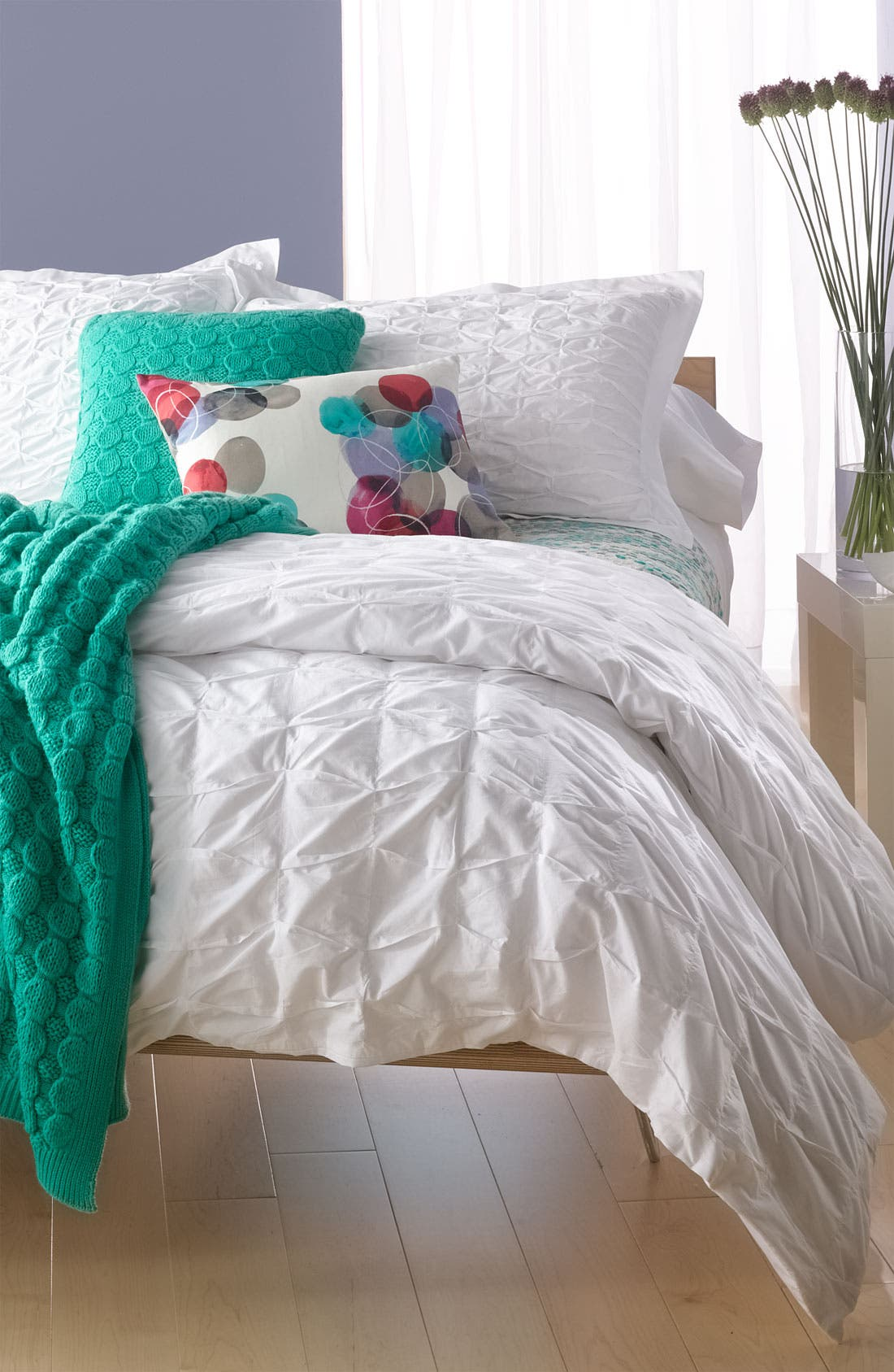 Alternate Image 3  - Nordstrom at Home 'Box Pleat' Duvet Cover