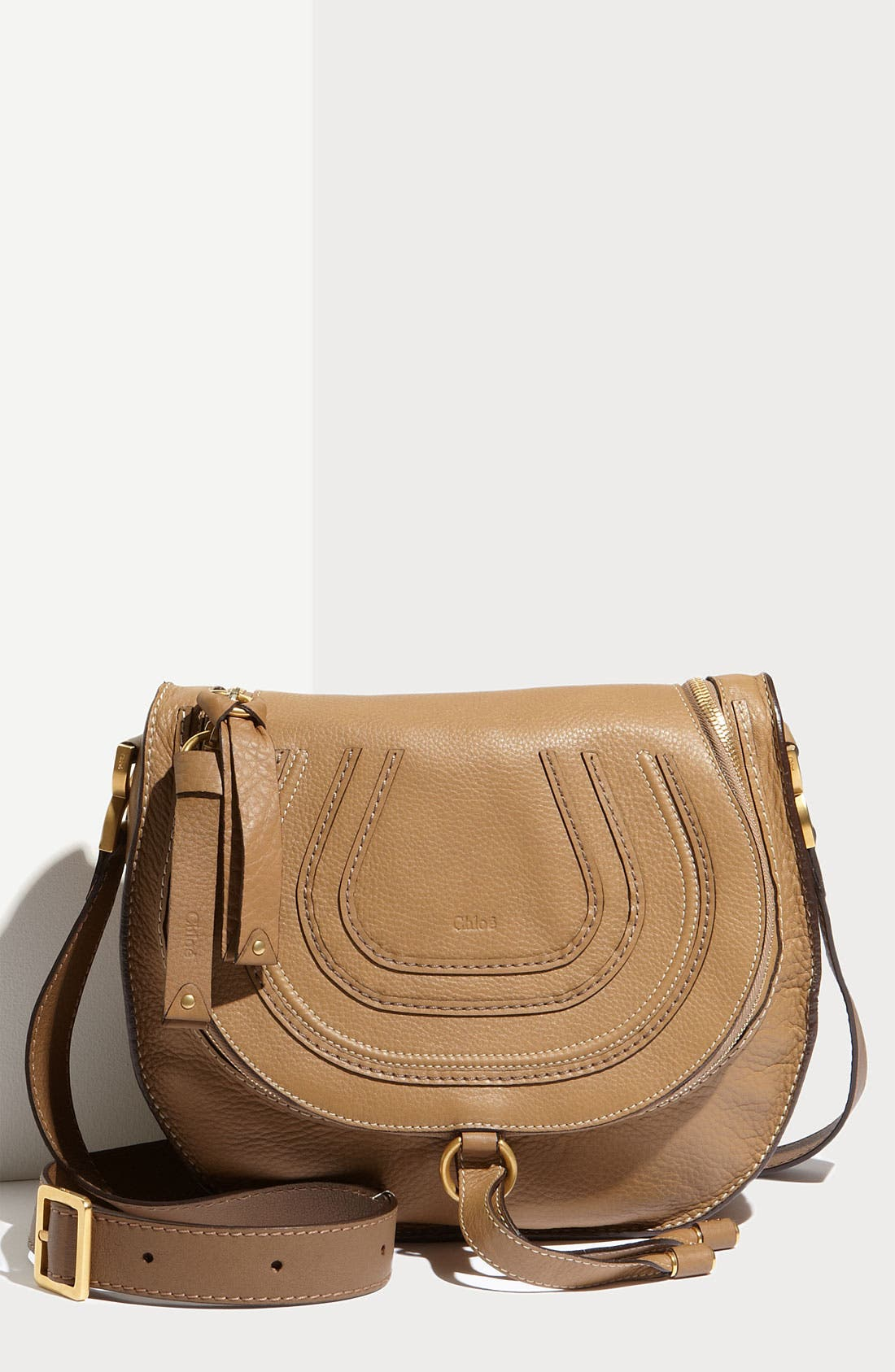 Main Image - Chloé 'Marcie' Leather Crossbody Bag