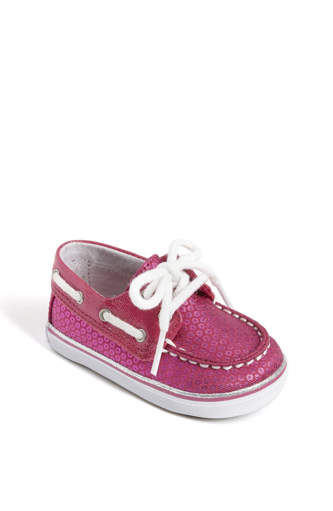 Main Image - Sperry Top-Sider® 'Bahama' Crib Shoe (Baby)