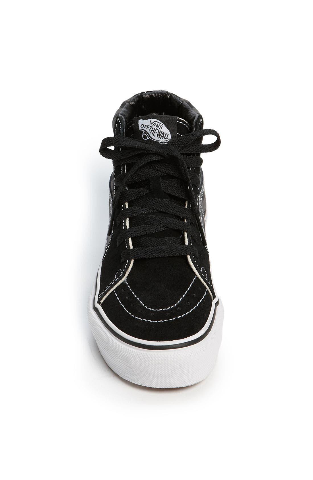 Alternate Image 3  - Vans 'SK8-Hi' Sneaker (Toddler, Little Kid & Big Kid)