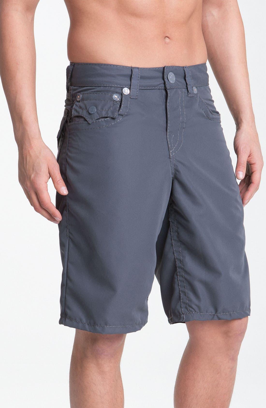 Alternate Image 2  - True Religion Brand Jeans 'PCH' Board Shorts