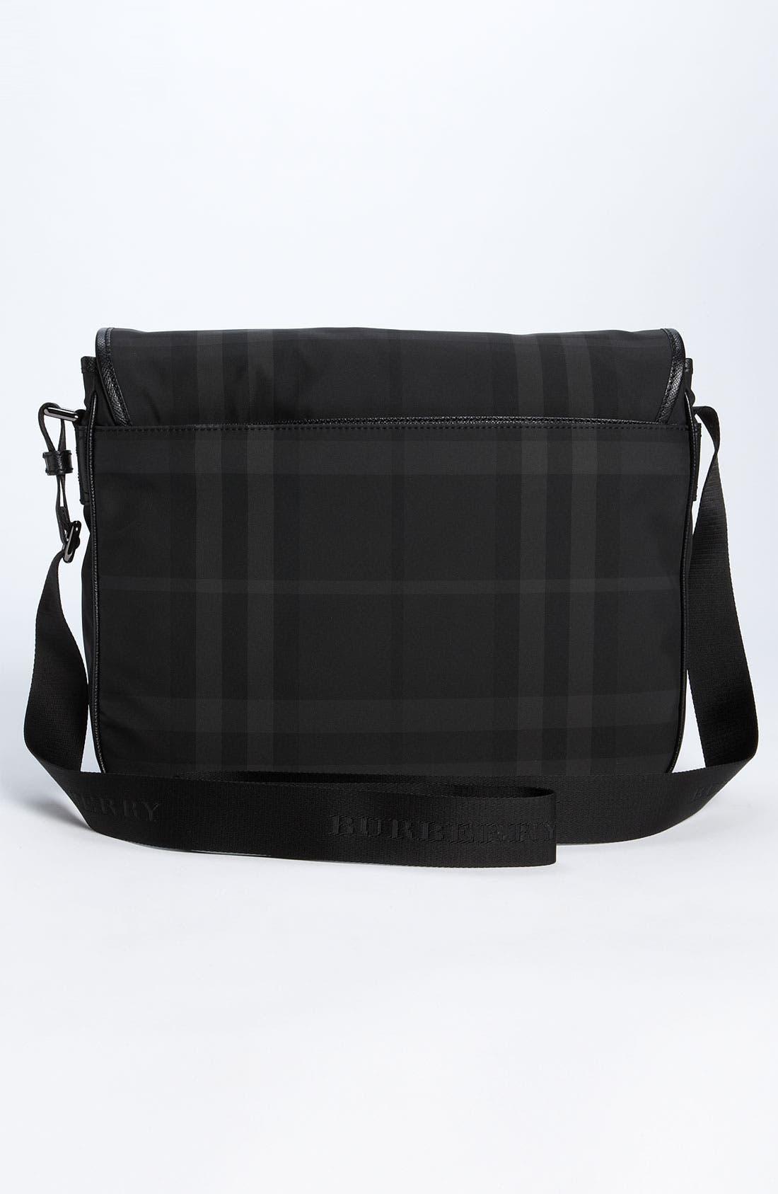 Alternate Image 2  - Burberry Medium Check Messenger Bag