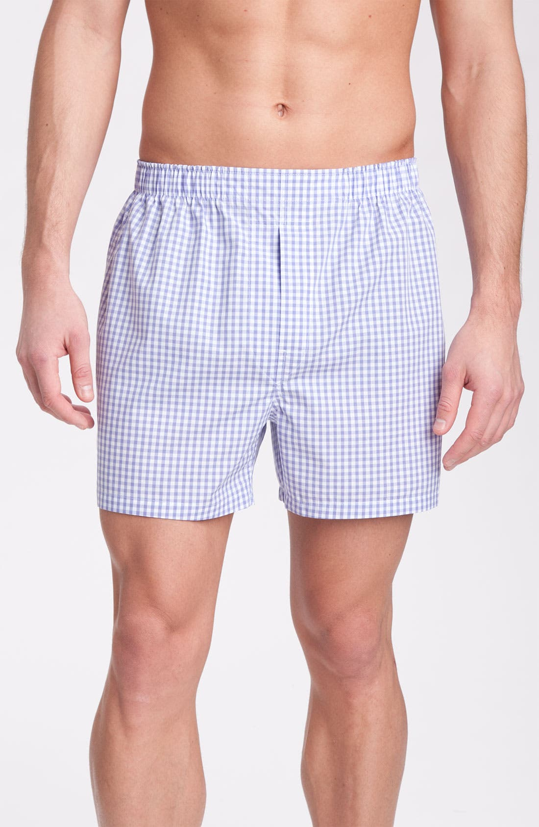 Main Image - Brooks Brothers Gingham Boxers