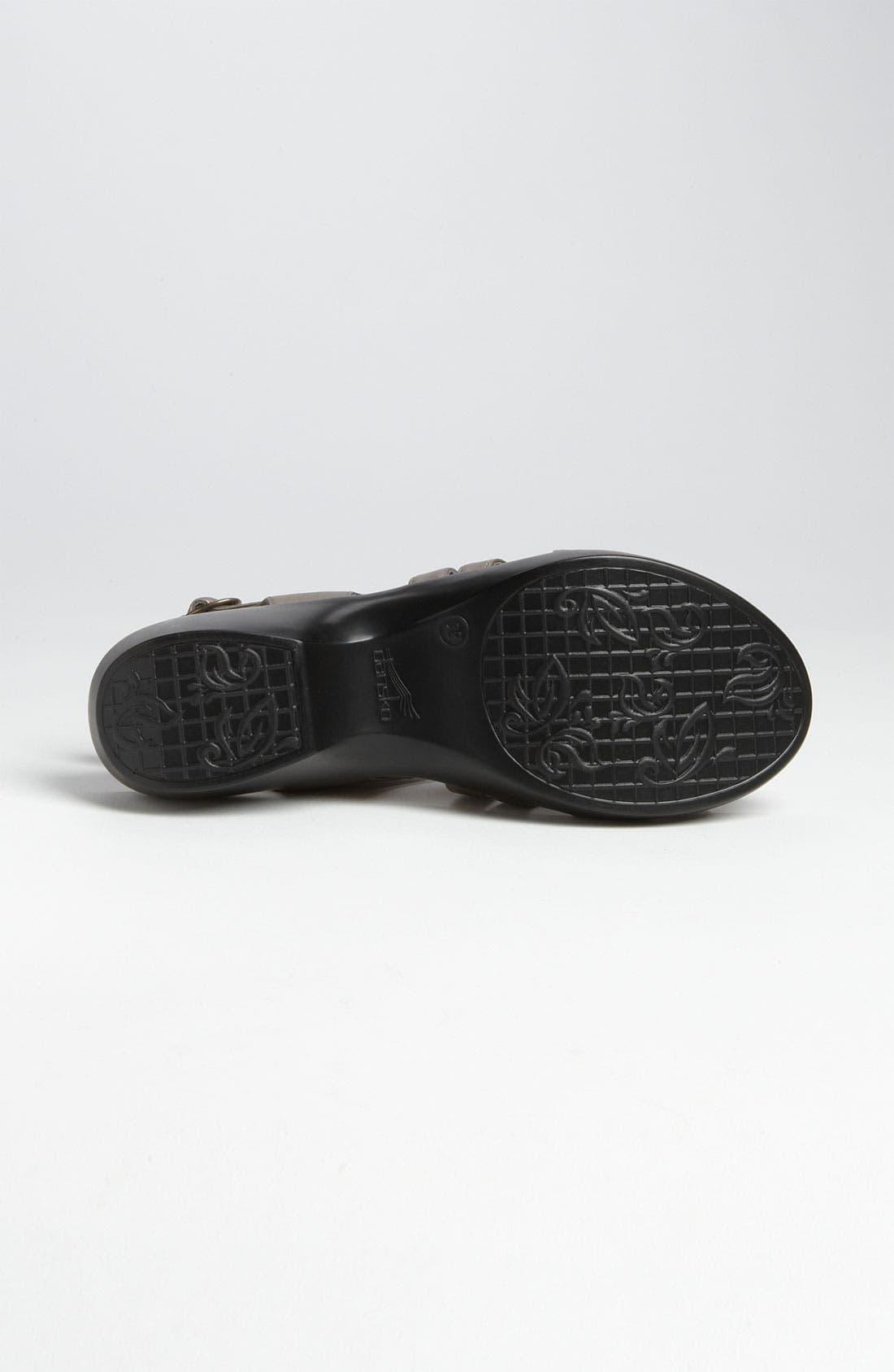 Alternate Image 4  - Dansko 'Dani' Sandal
