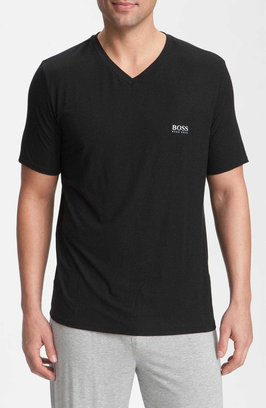 Alternate Image 1 Selected - BOSS 'Innovation 5' V-Neck T-Shirt