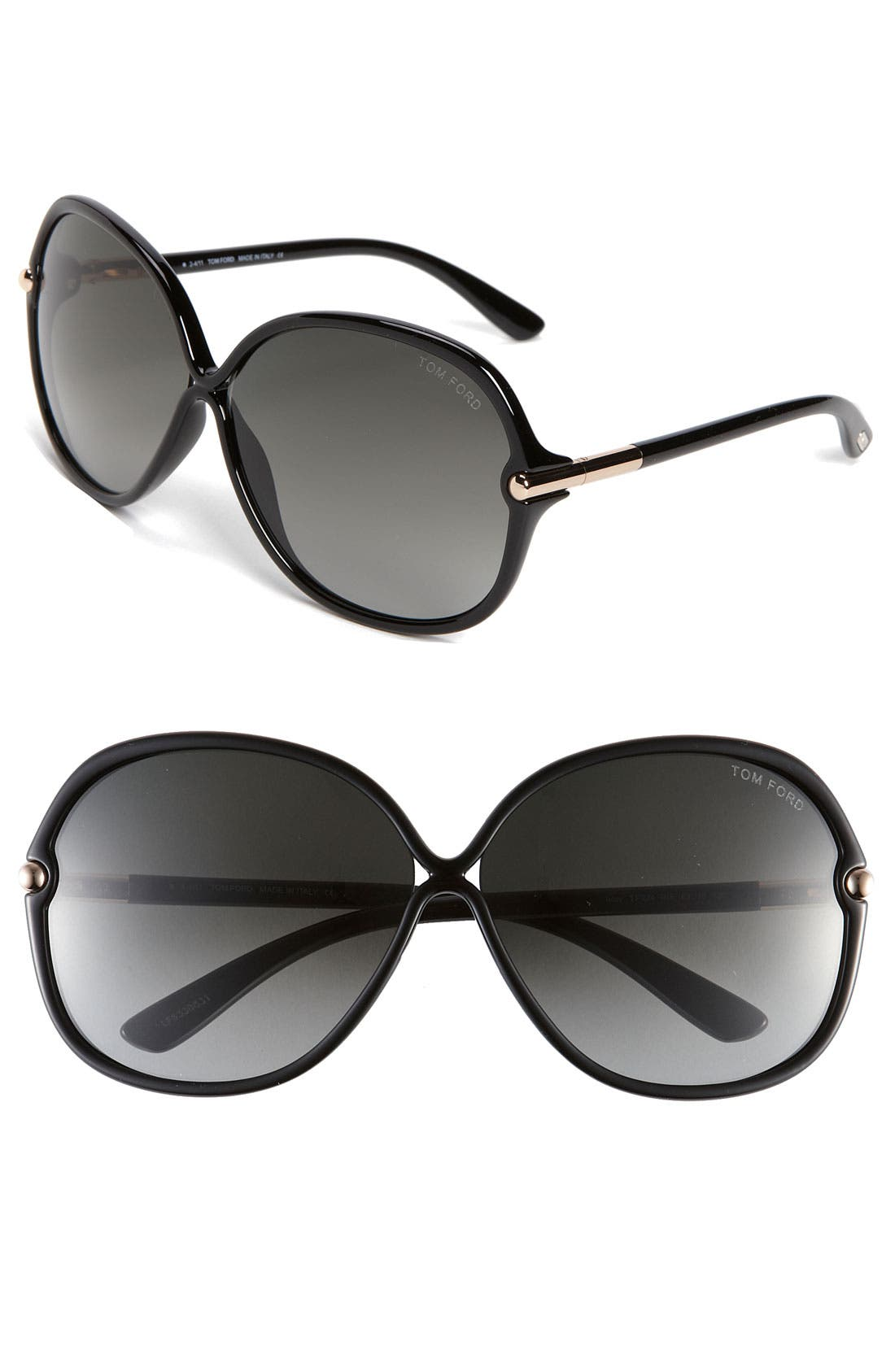 Alternate Image 1 Selected - Tom Ford Oversized Sunglasses