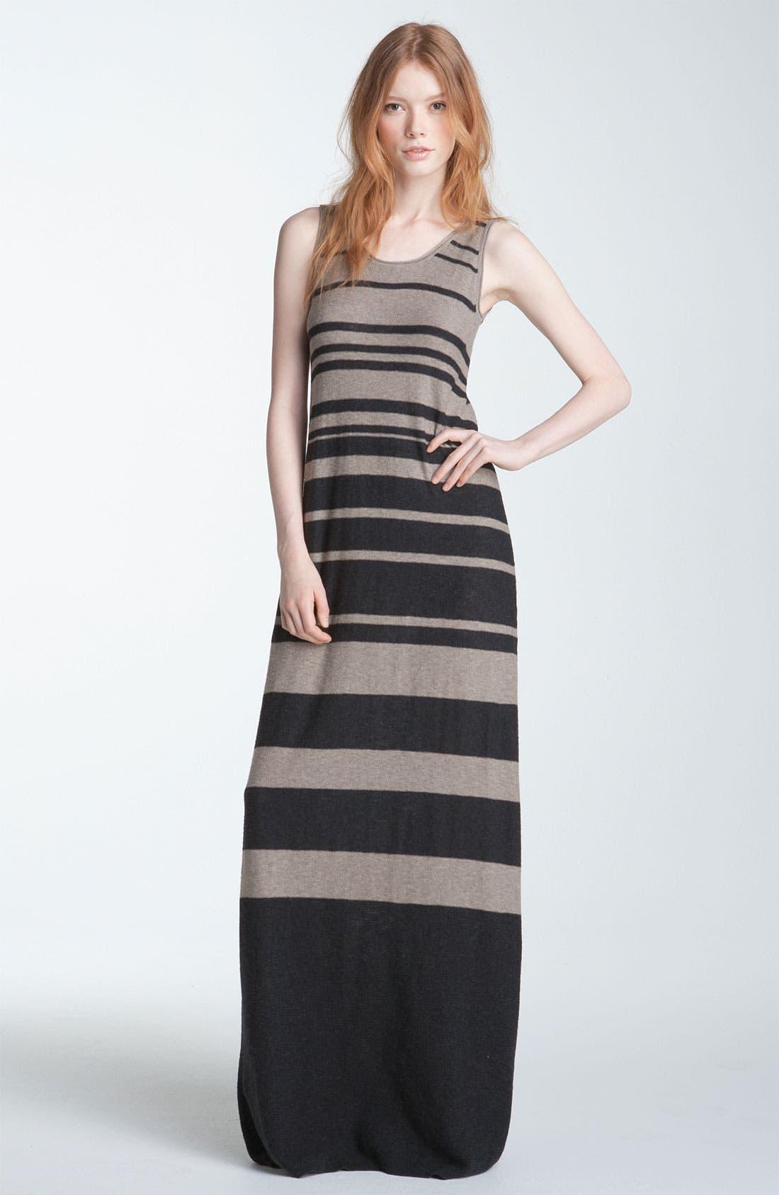 Alternate Image 1 Selected - Vince Stripe Maxi Tank Dress