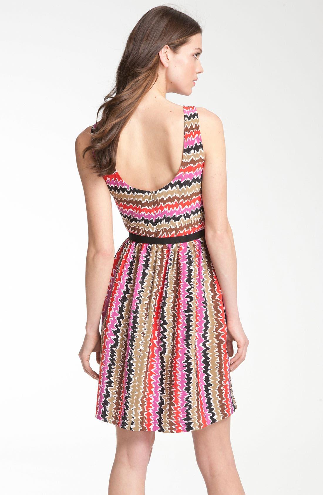 Alternate Image 2  - Trina Turk 'Esperanza' Print Silk Belted Dress