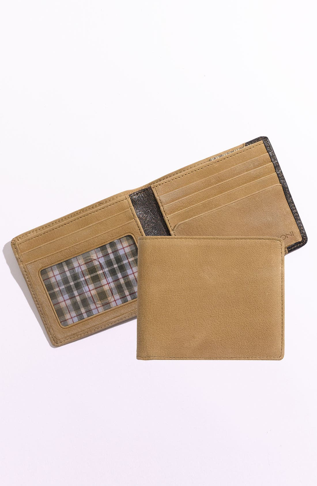 Main Image - Boconi 'Leon' Slimfold Wallet