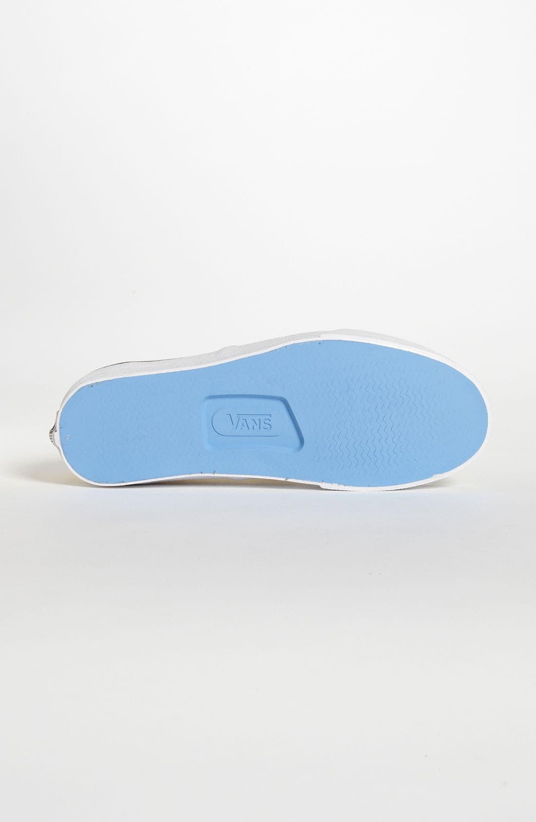Alternate Image 4  - Vans 'Authentic' Twill Sneaker (Women)