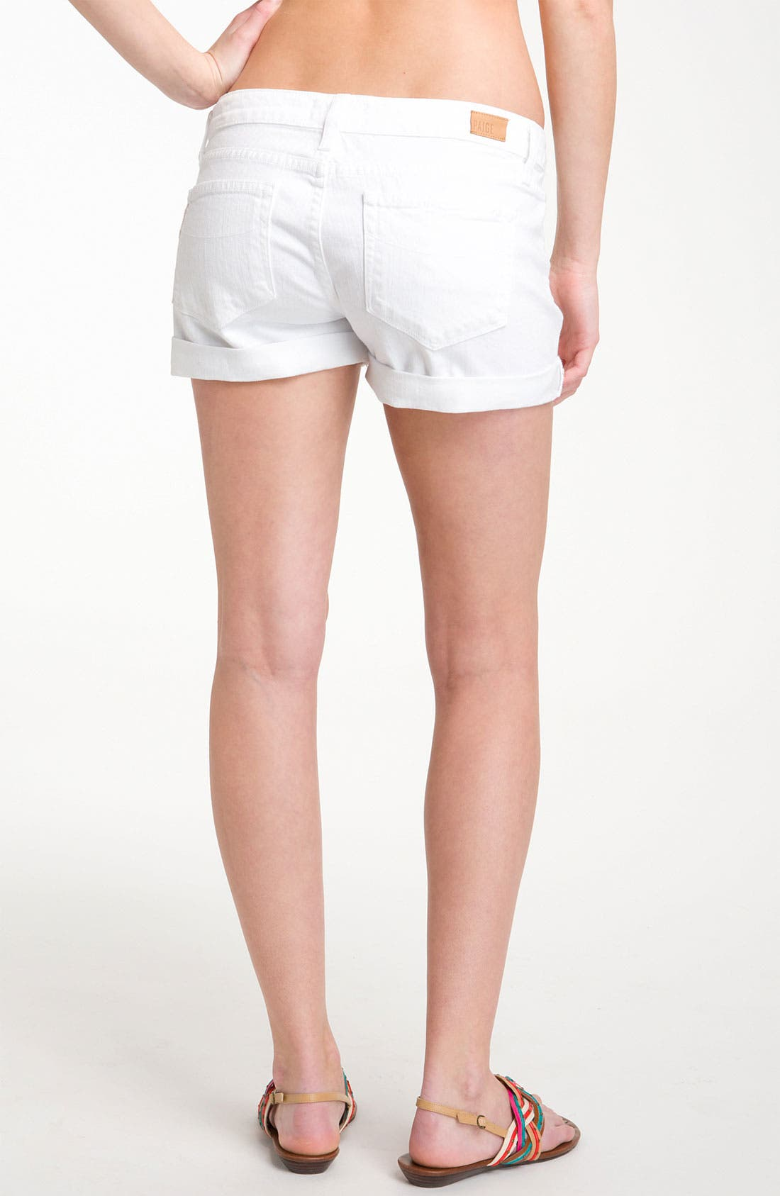 Alternate Image 2  - Paige Denim 'Jimmy Jimmy' Shorts (Optic White)