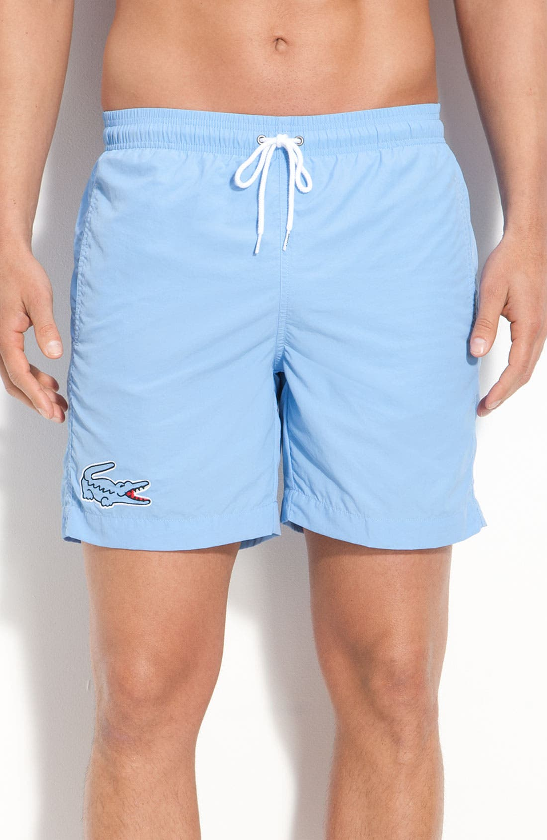 Main Image - Lacoste Swim Trunks (Online Exclusive)