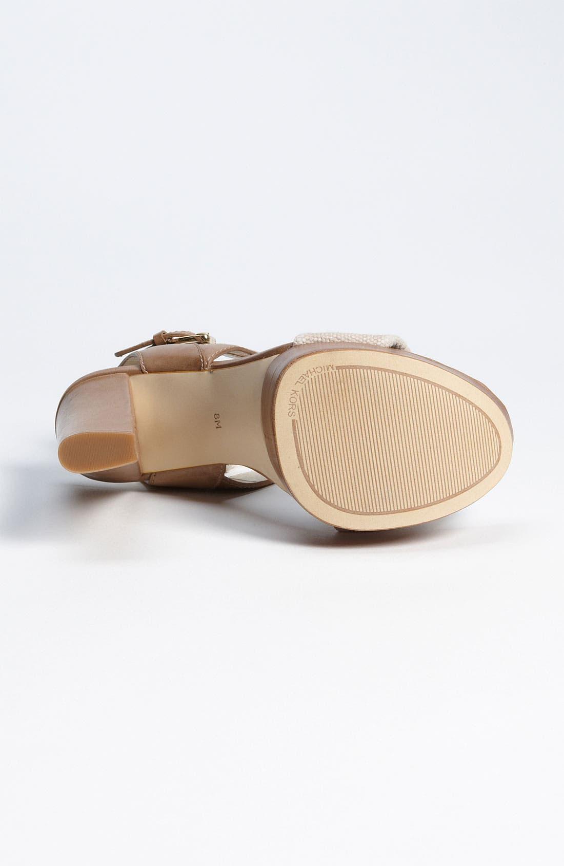 Alternate Image 4  - MICHAEL Michael Kors 'Nadina' Sandal