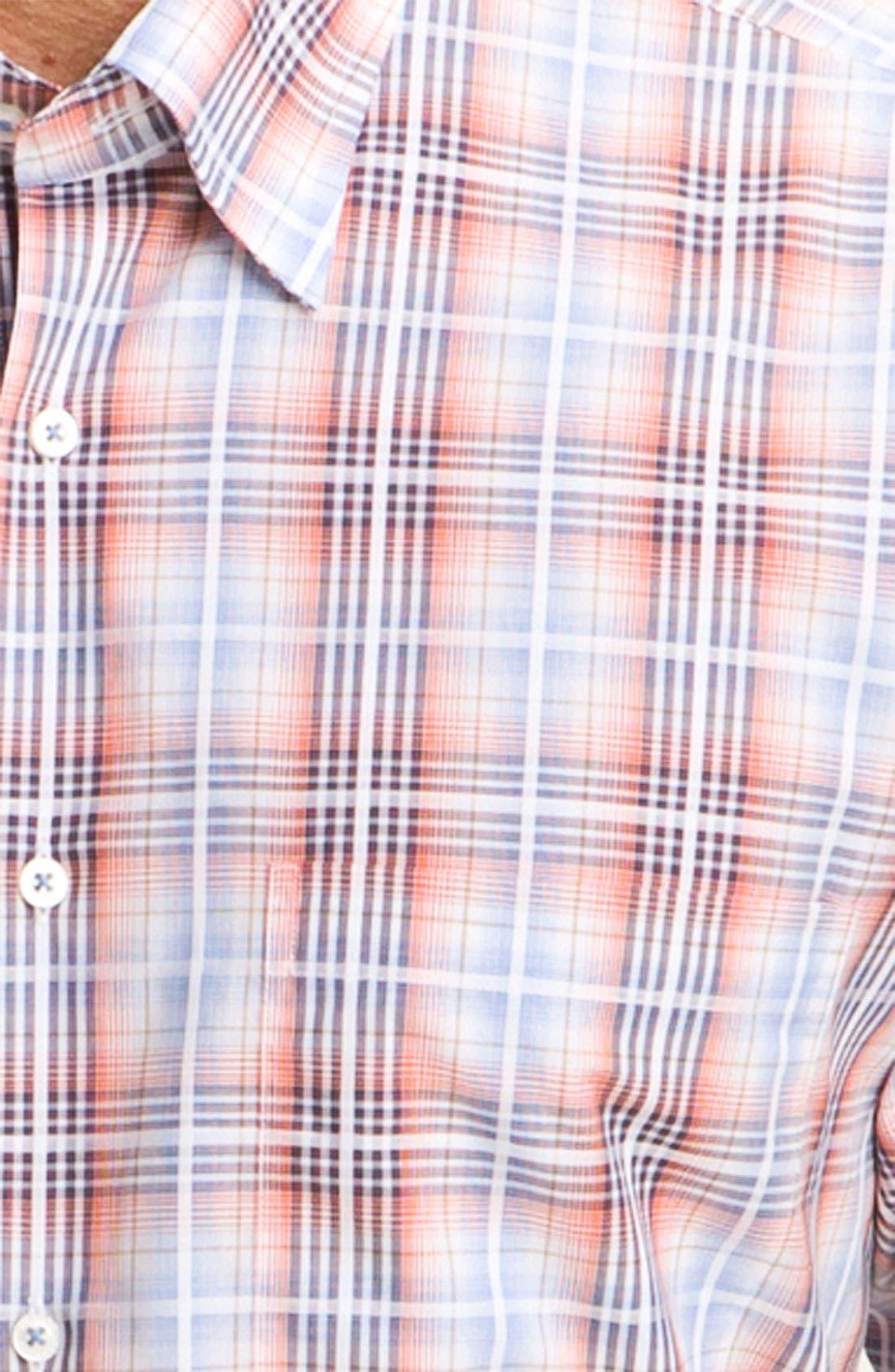 Alternate Image 3  - Robert Talbott Plaid Sport Shirt
