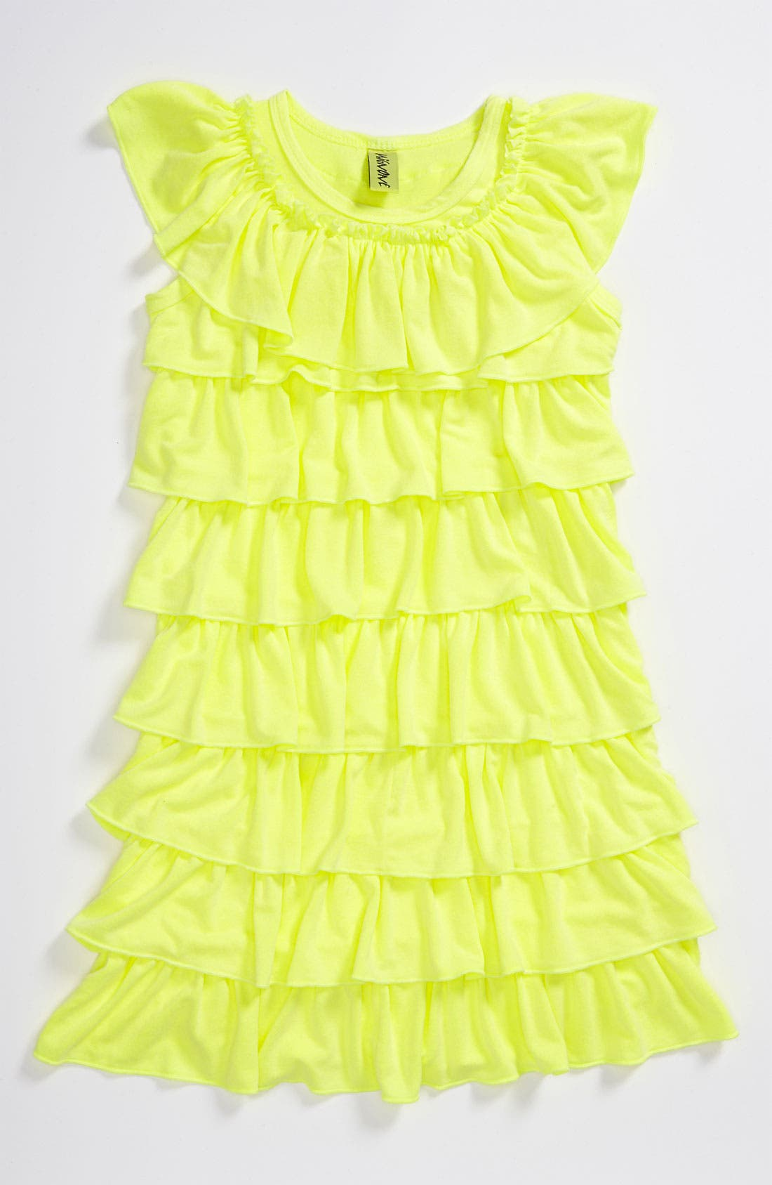 Main Image - Mignone Allover Ruffle Dress (Little Girls)