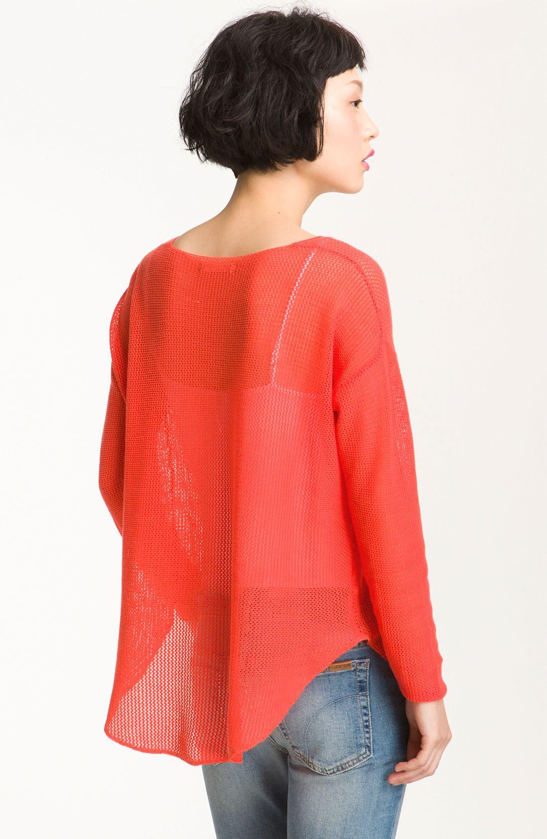 Alternate Image 2  - Soft Joie 'Nia' Sheer Oversized Mesh Top