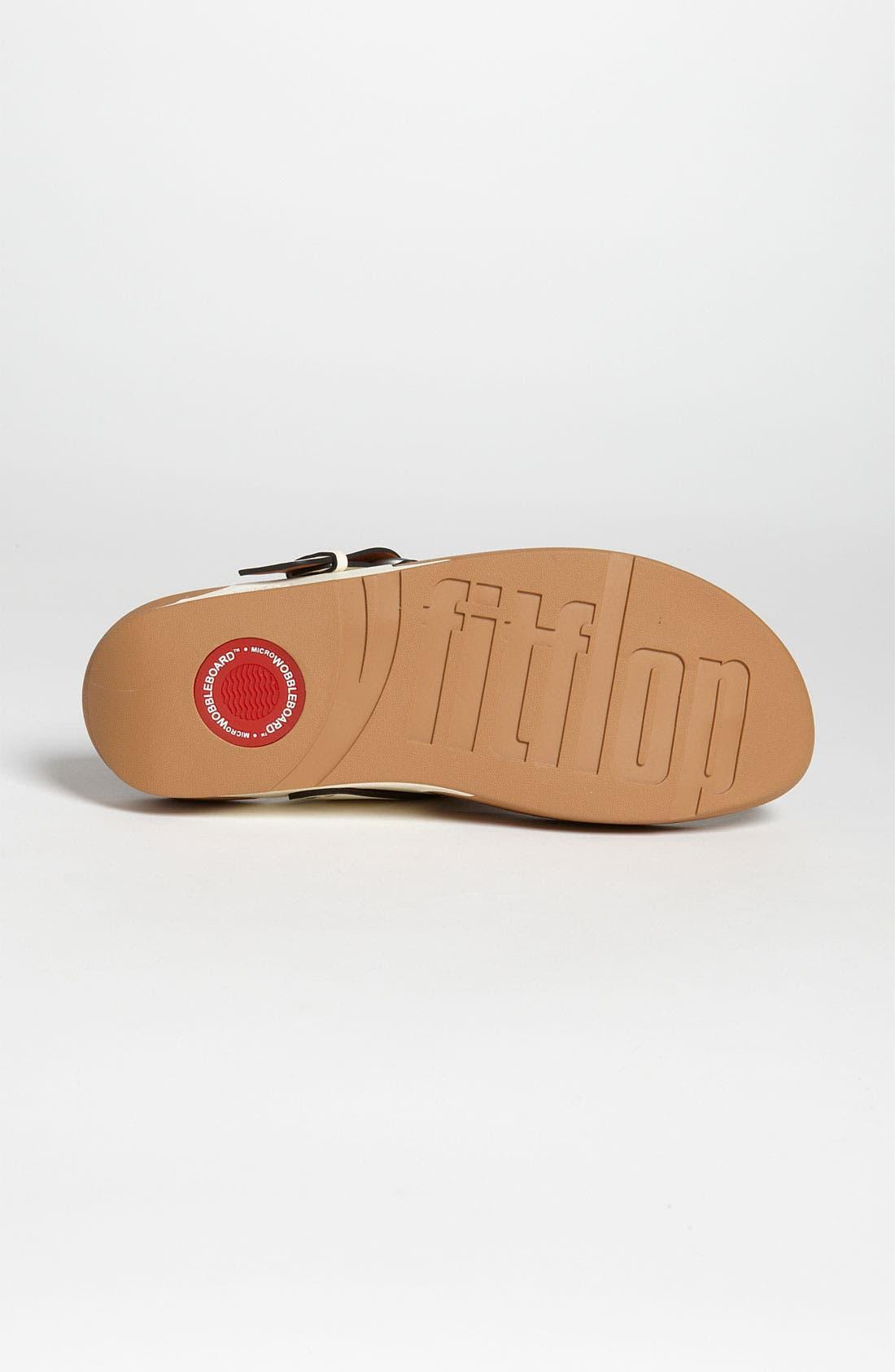 Alternate Image 3  - FitFlop 'Via™' Nubuck Sandal