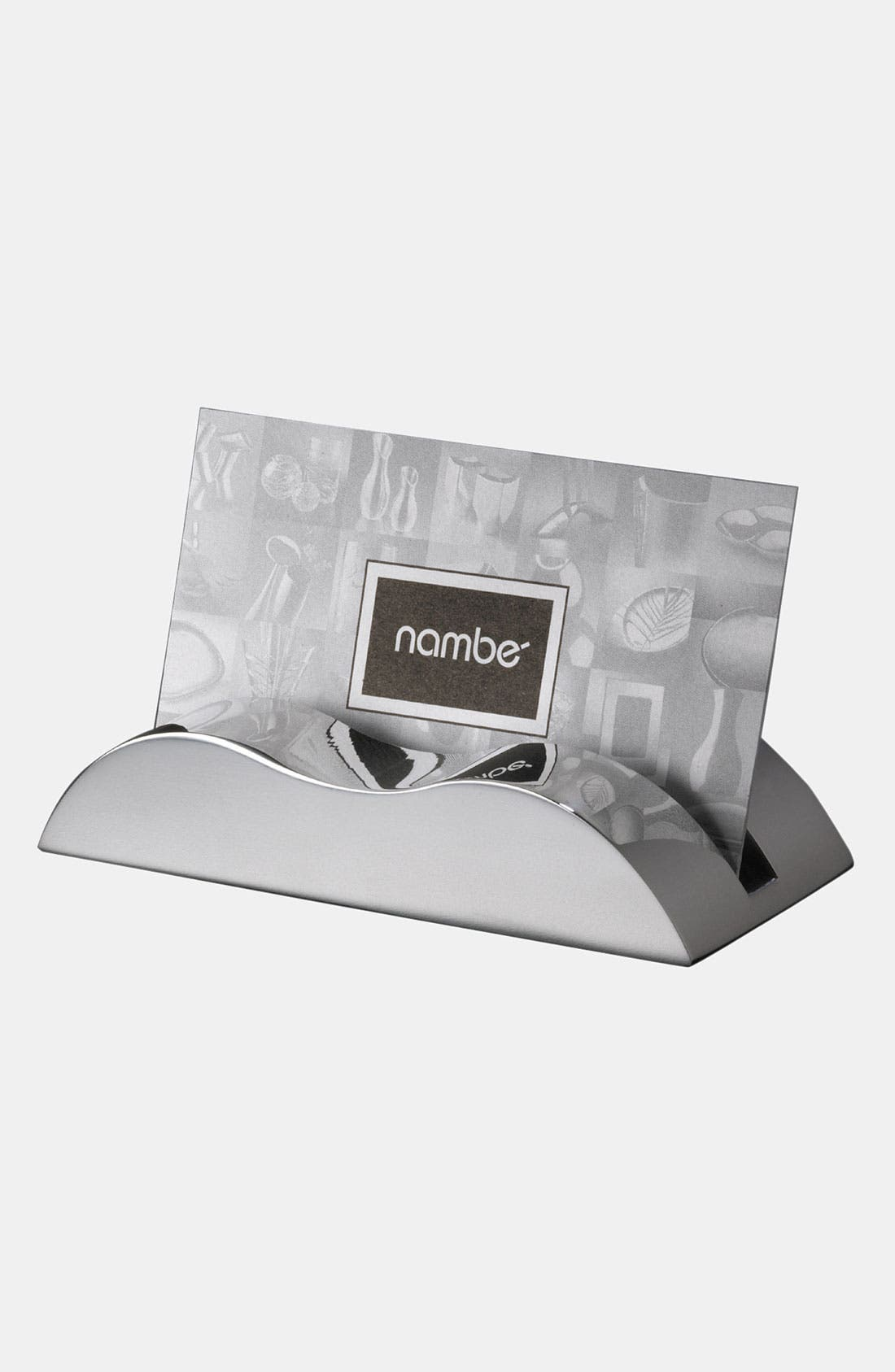 Nambé Wave Business Card Holder