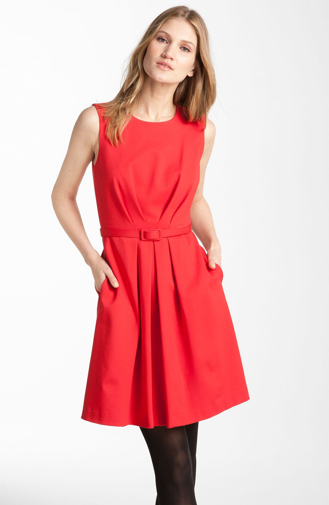 Alternate Image 1 Selected - Trina Turk 'Princess' Ponte Knit Dress