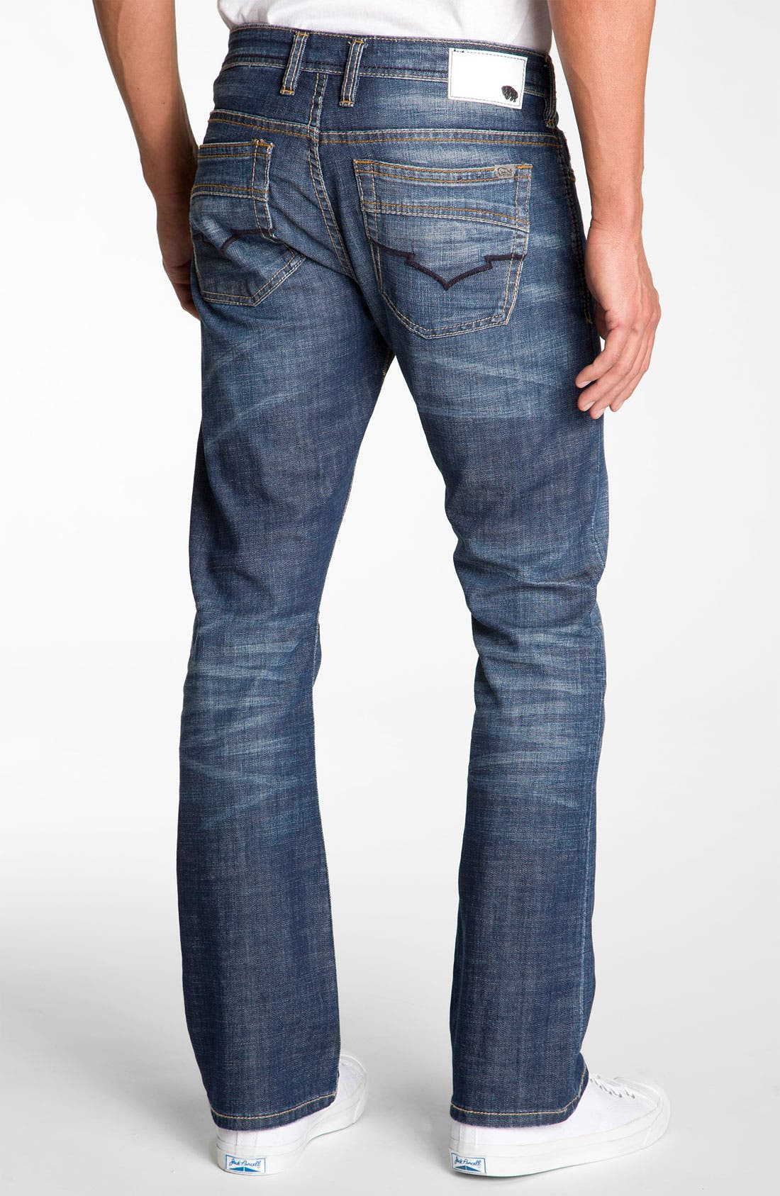 Alternate Image 2  - Buffalo Jeans 'King' Bootcut Jeans (Distressed & Worn)
