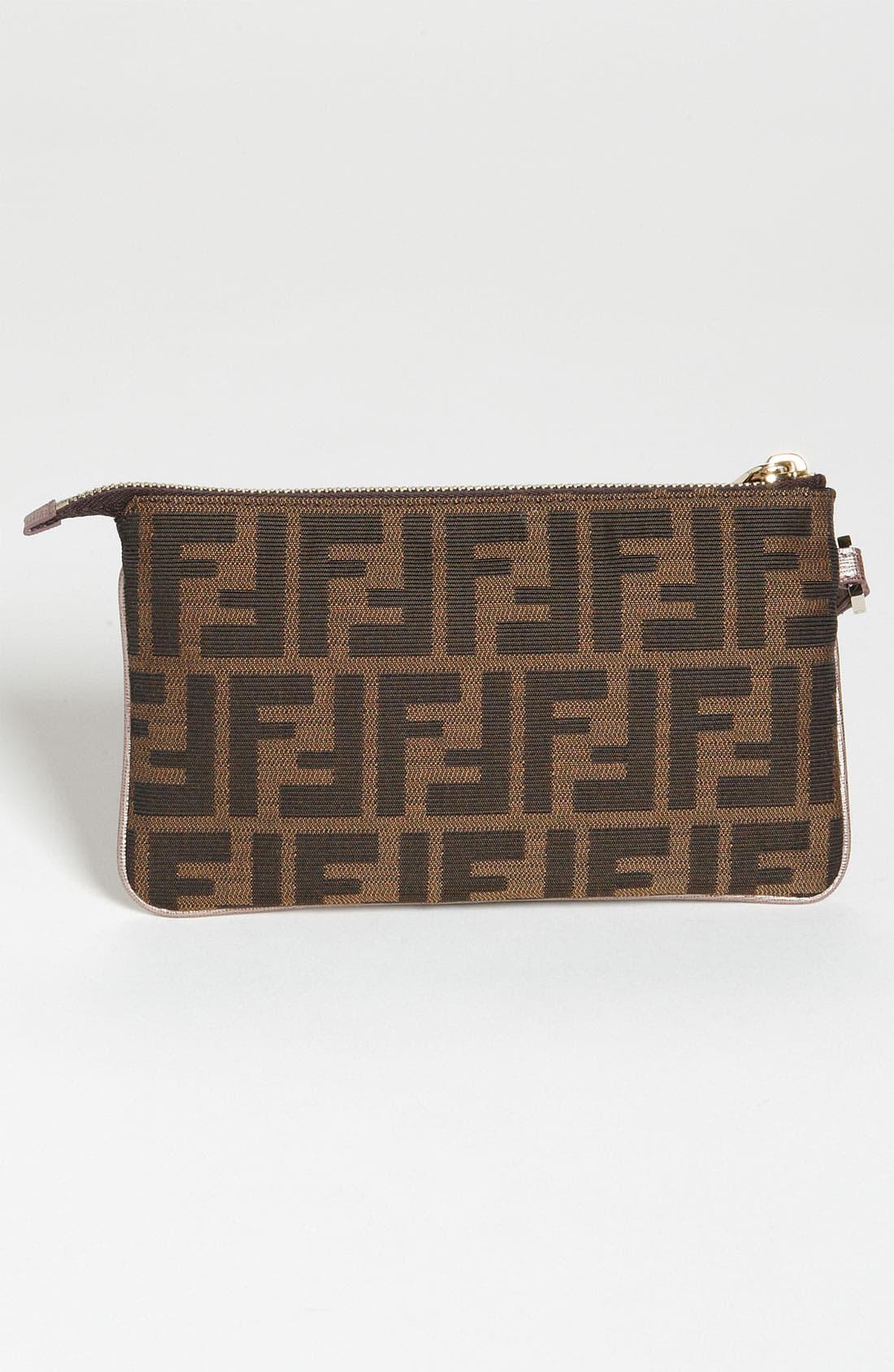 Alternate Image 4  - Fendi 'Zucca' Fabric Wristlet