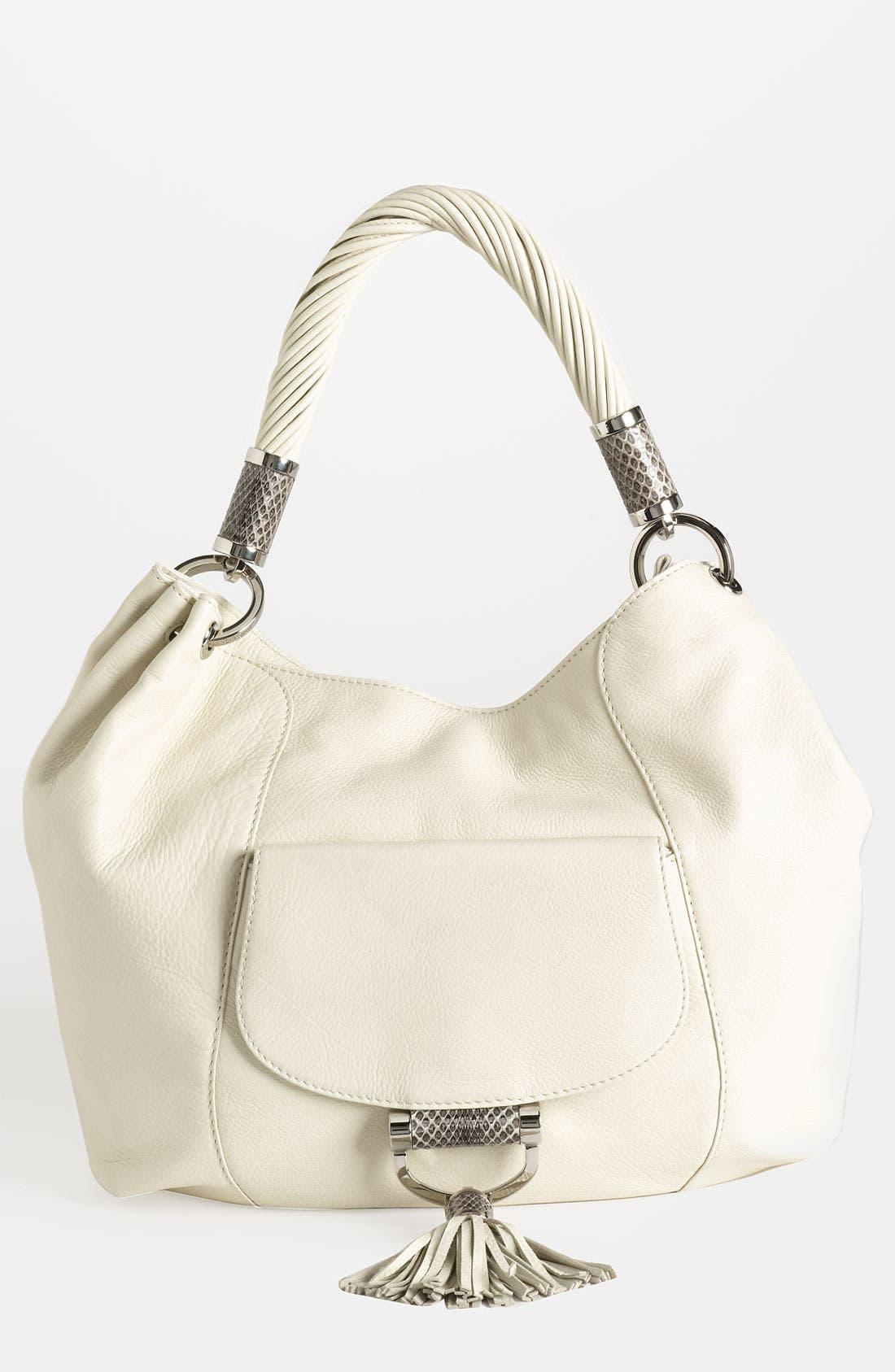 Main Image - Michael Kors 'Tonne' Leather Shoulder Bag