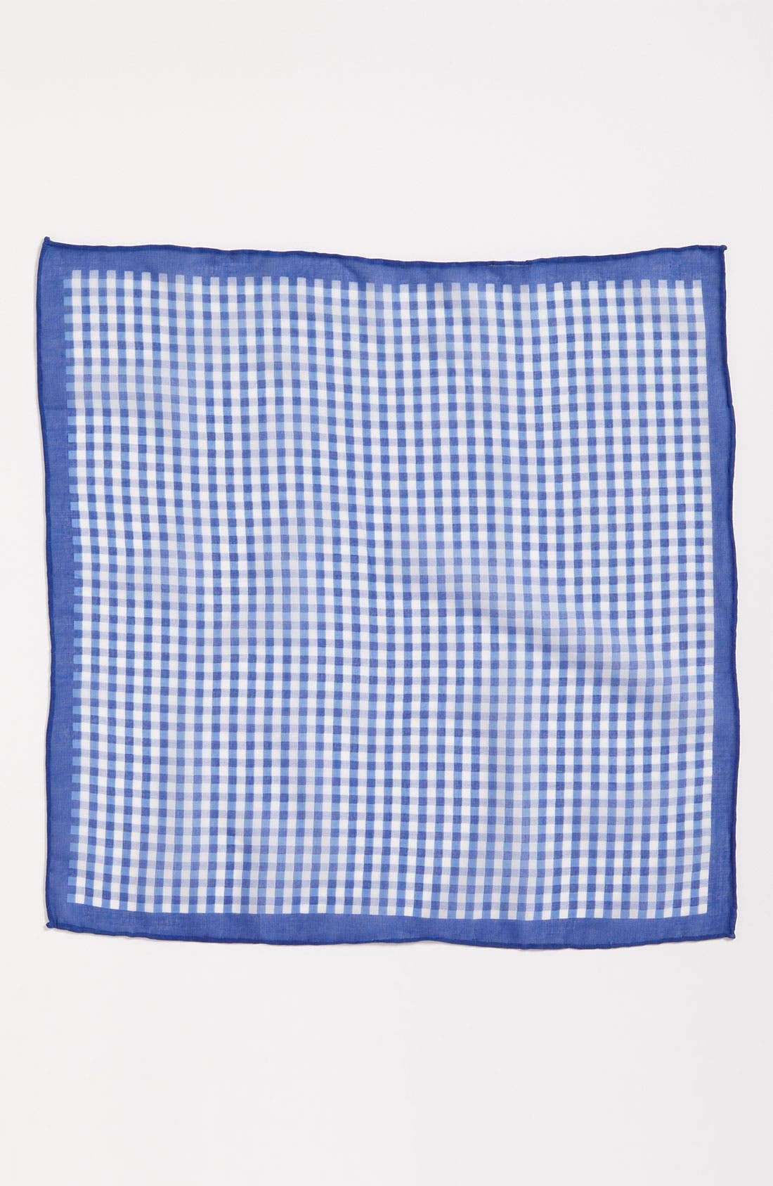 Alternate Image 2  - Calibrate Gingham Pocket Square