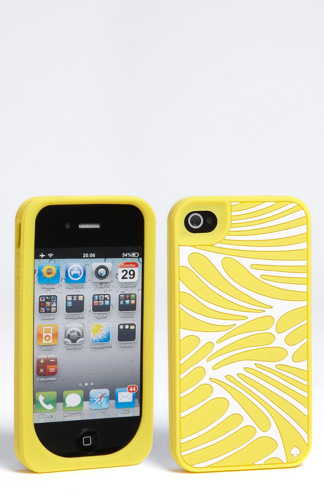 Alternate Image 1 Selected - kate spade new york 'fingers' iphone 4 & 4S case