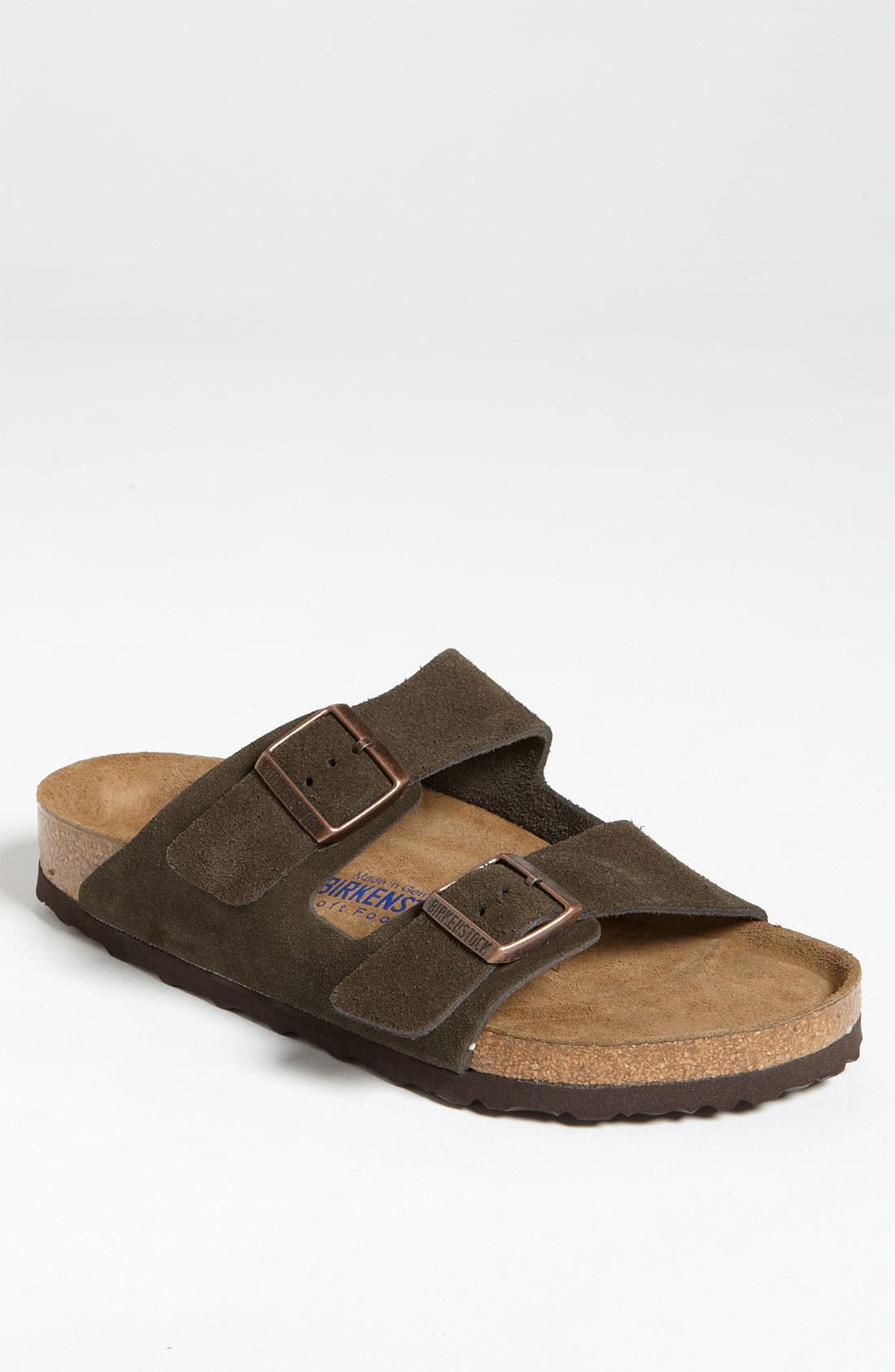 Alternate Image 1 Selected - Birkenstock 'Arizona Soft' Slide   (Men)