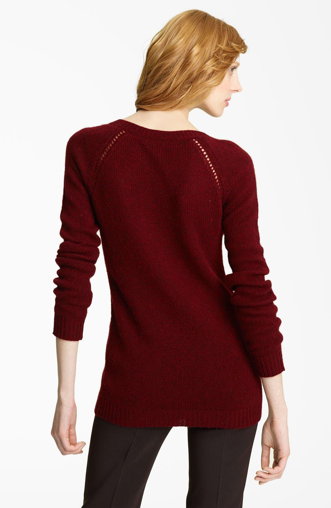 Alternate Image 2  - Burberry Prorsum Cashmere Sweater