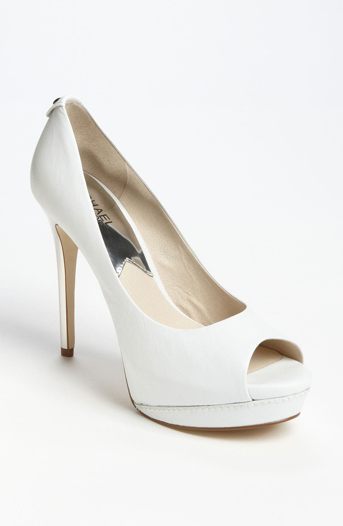 Alternate Image 1 Selected - MICHAEL Michael Kors 'Josie Peep' Pump