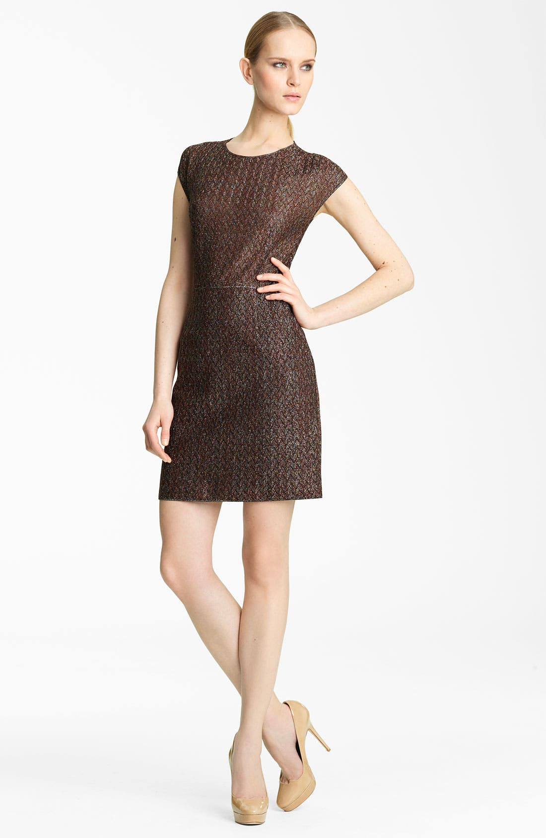 Main Image - Missoni Metallic Knit Dress