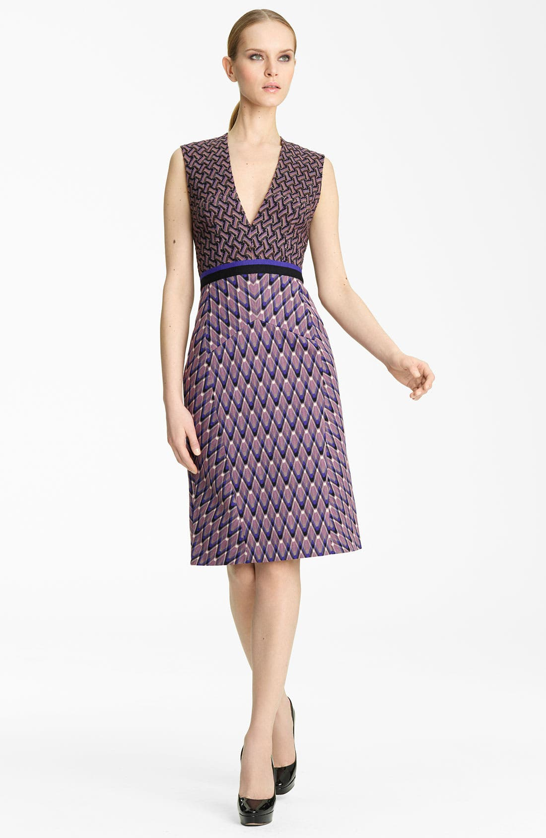 Alternate Image 1 Selected - Missoni Contrast Print Dress