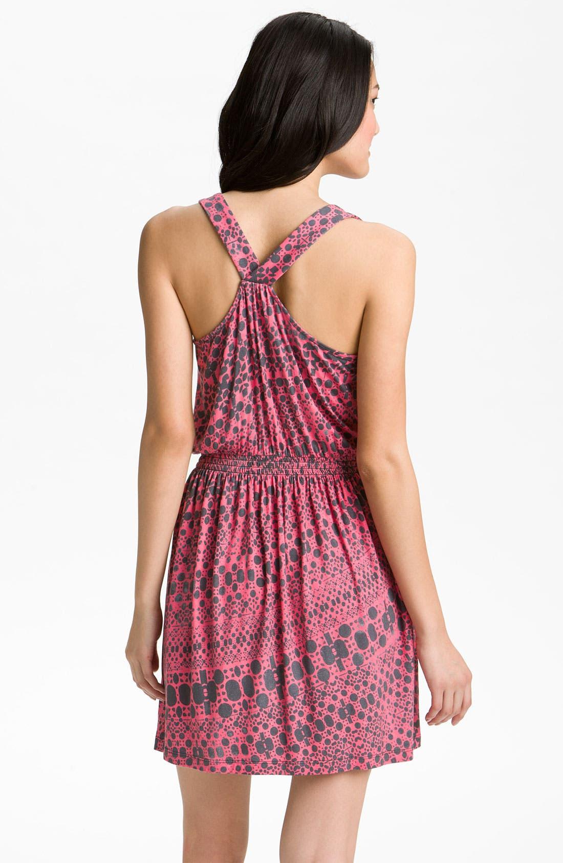 Alternate Image 2  - Caslon® Draped Knit Dress (Petite)
